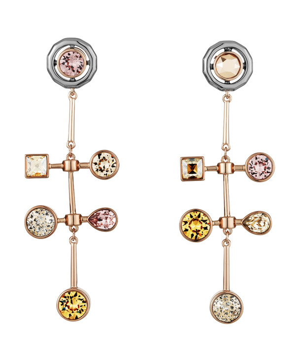 AS by Peter Pilotto, Arbol Linear Pierced Earrings,1