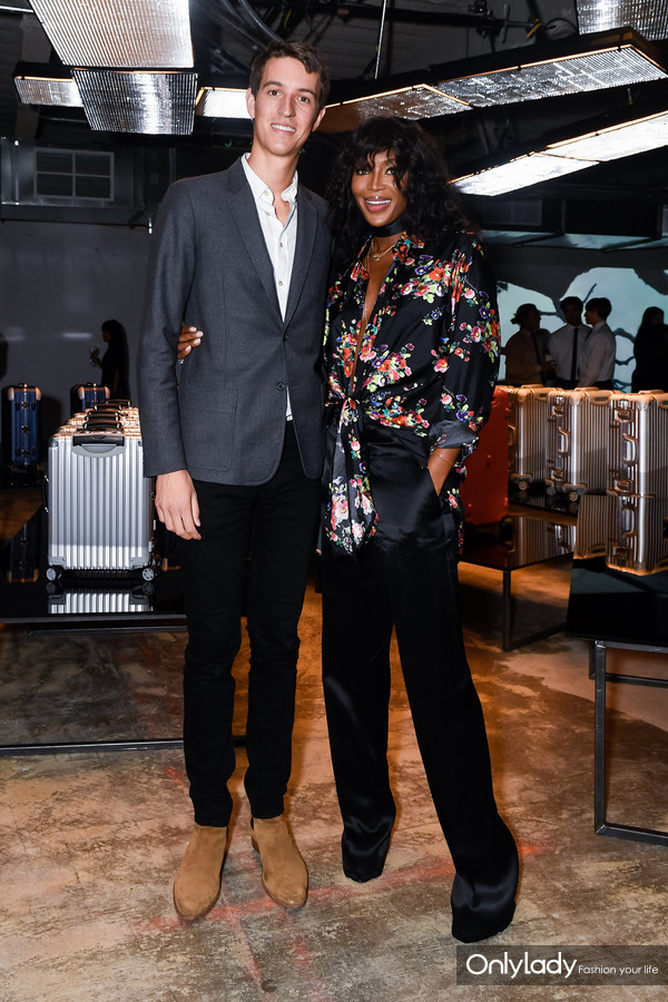 Alexandre Arnault and Naomi Campbell