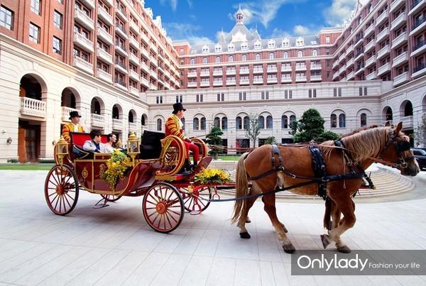 天津丽思卡尔顿酒店古堡婚礼 (2)