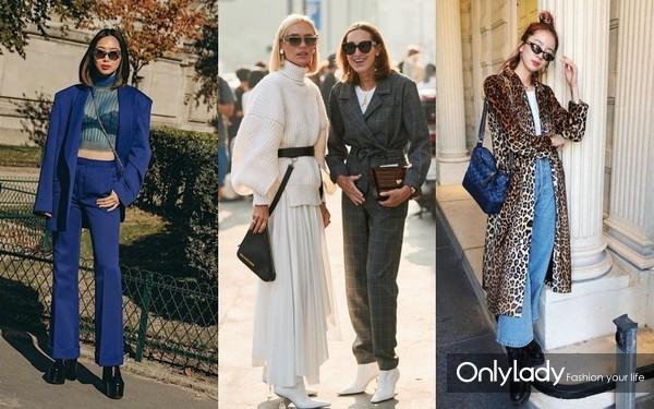 入秋转冬,从时髦精的街拍造型找穿衣灵感