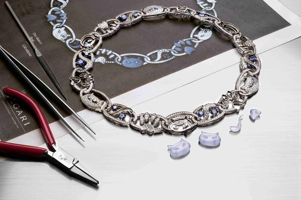 宝格丽Wild Pop高级珠宝系列项链
