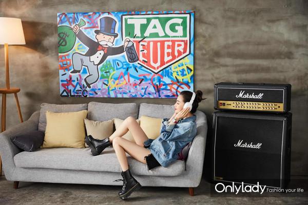 TAG Heuer泰格豪雅携手全球品牌大使Angelababy倾情演绎F1 系列女士腕表-1