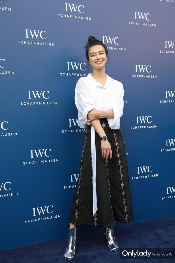"""青年演员李蔓瑄参加IWC万国表""""时光传承 为影无畏""""活动"""