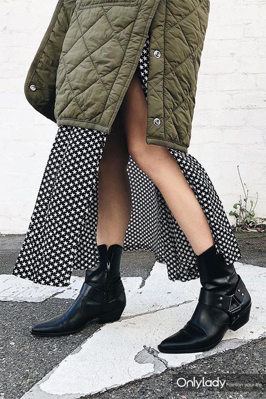 一双好看的靴子≈冬天一半的时髦