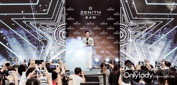 """""""歌神""""陈奕迅首次以真力时品牌代言人的身份惊艳亮相"""