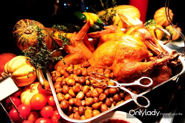 北京金融街丽思卡尔顿酒店 四季汇 圣诞火鸡