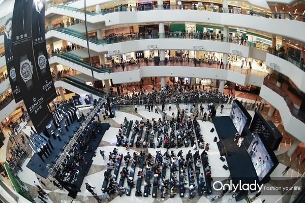 分秒必真 闪耀未来 真力时携手陈奕迅首现天津 官方视频震撼发布 活动现场图