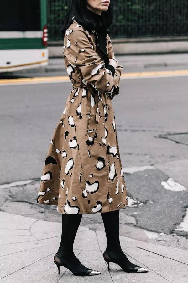 新季尖货:豹纹、皮草、羽绒服···冬季高难度元素如