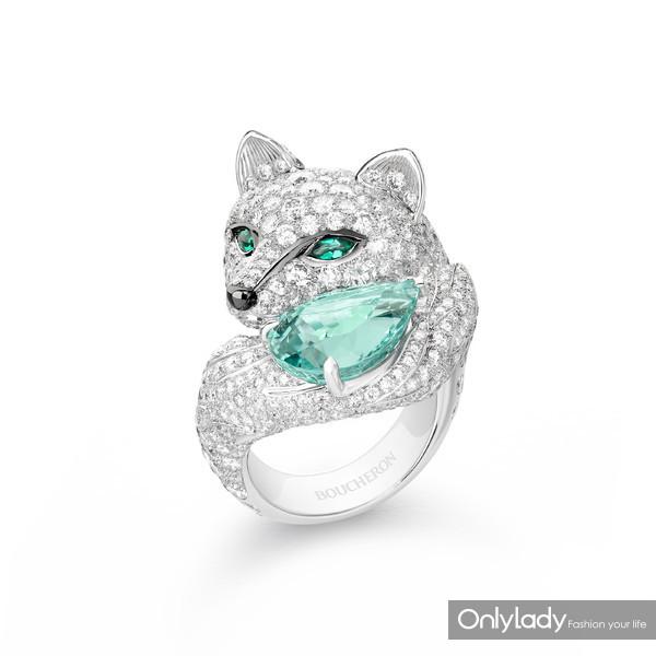 Lumière-de-Nuit极夜之光系列Foxy北极狐戒指