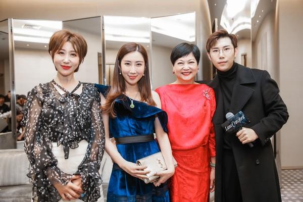 配图5-连卡佛大中华区副总裁Irene Lau女士、Ciga Long品牌创始人龙梓嘉先生及尊贵宾客VIP