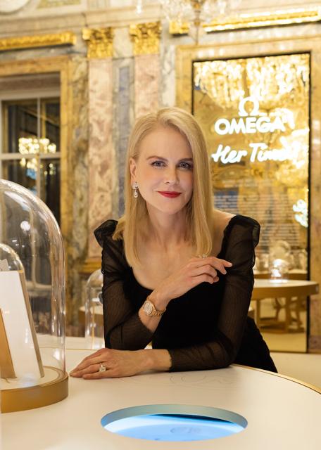 """欧米茄""""她的时光""""女士腕表百年臻品展于圣彼得堡盛大揭幕"""