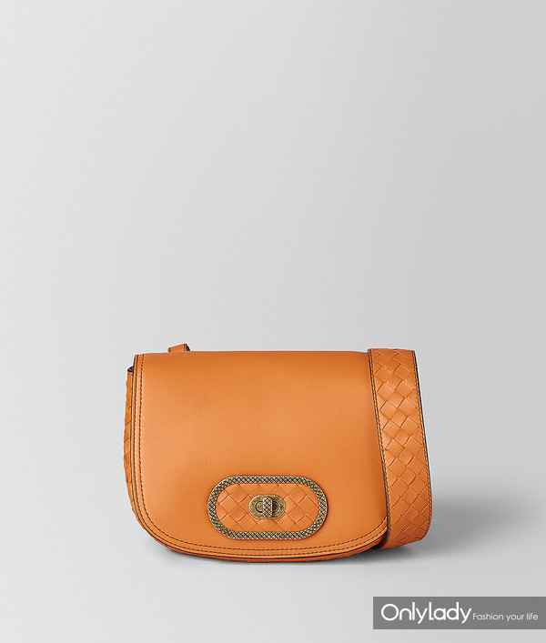 Bottege Veneta 橘色BV Luna手袋 17650元 (1)