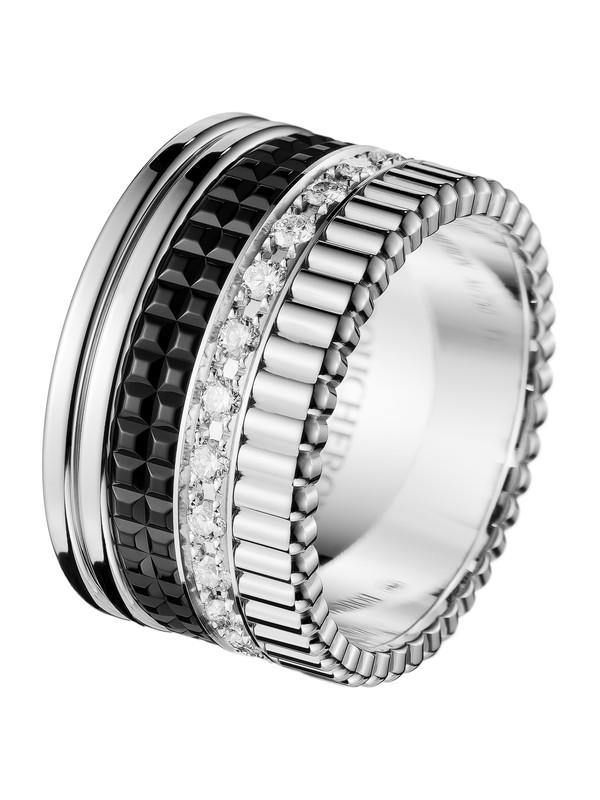 Quatre Black Edition large diamonds