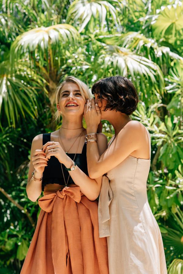 时尚博主Caro Daur及Taylor Lashae演绎Piaget Possession系列 1