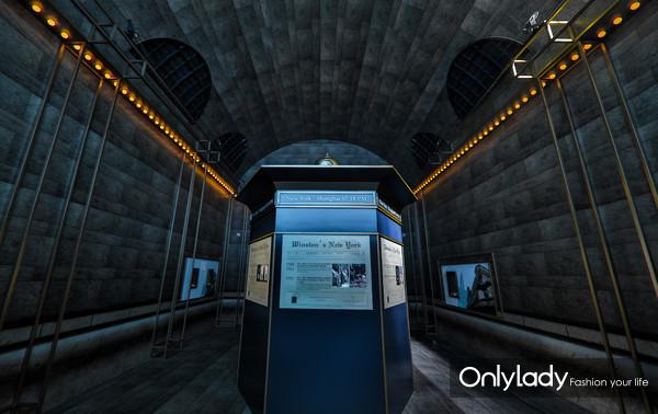 以中央车站为灵感的GRAND CENTRAL展厅