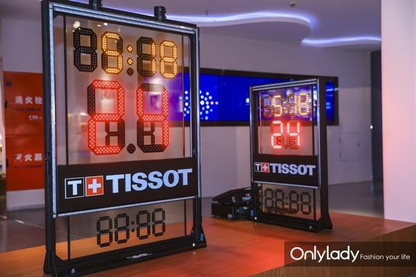 """图15:天梭表全新计时计分系统登陆""""NBA冠军主题展"""""""