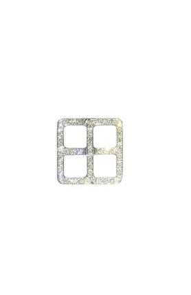 TSL │ 謝瑞麟 钻饰系列 18K白色黄金镶嵌钻石胸针