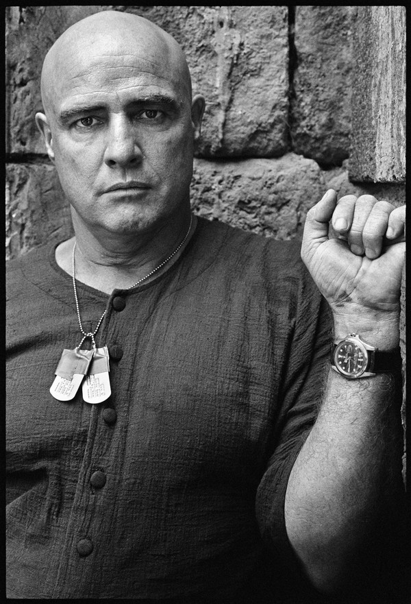 Marlon Brando on the Set of Apocalypse Now, Credit Mary Ellen Mark, NOT TO BE CROPPED