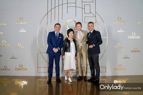 Wilson Yang, Gong Yan, Eddie Redmayne, Raynald Aeschlimann