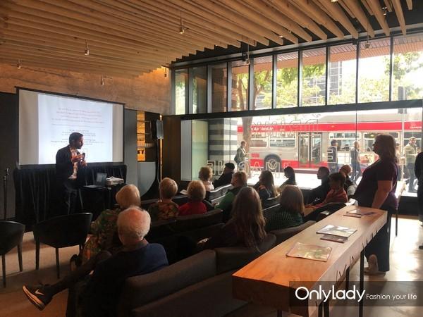 PHG咨询公司代表苏州市文化广电和旅游局在旧金山现代艺术博物馆In Situ餐厅向加州本地旅行社和媒体介绍苏州旅游资源