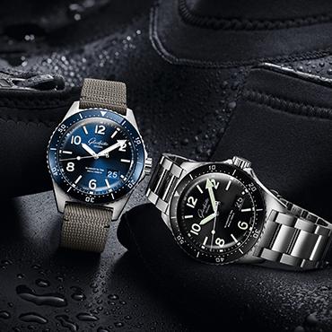 SeaQ 腕表 复兴德国钟表重镇格拉苏蒂的潜水表传统