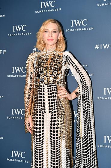 IWC万国表品牌大使凯特·布兰切特于第十五届苏黎世