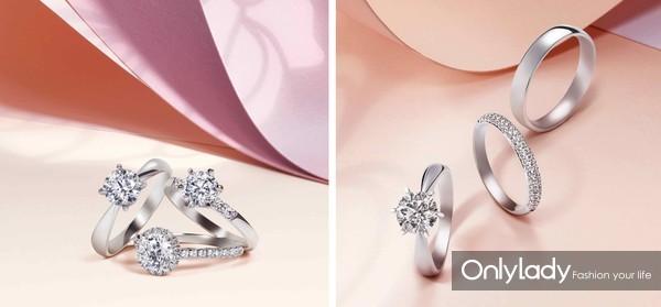 Promessa 系列钻石戒指