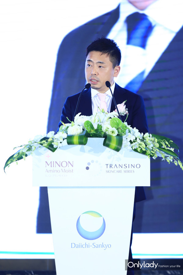 MINON蜜浓中国区总经理山本先生致辞
