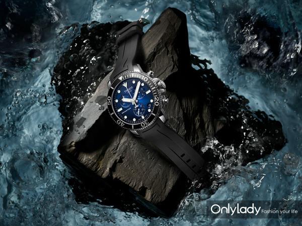 图2:天梭海星潜水1000系列石英款腕表