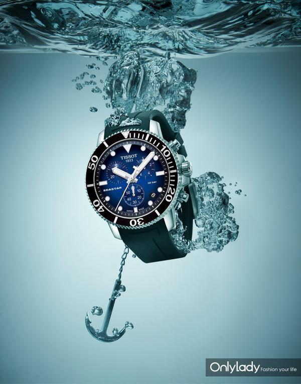 图3:天梭海星潜水1000系列石英款腕表