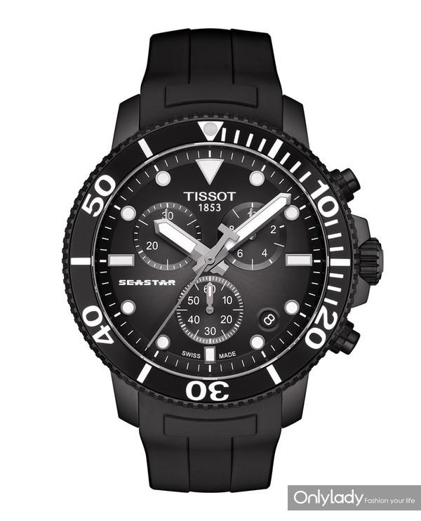 图10:天梭海星潜水1000系列石英款腕表