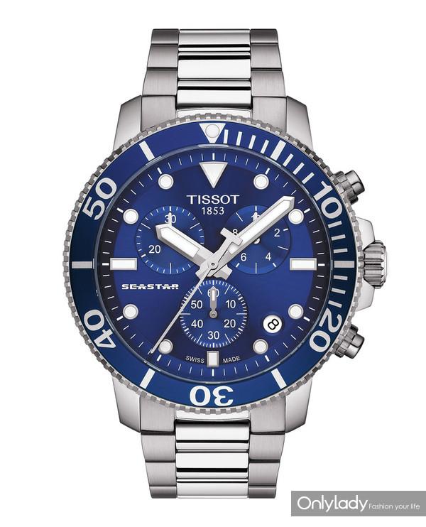 图11:天梭海星潜水1000系列石英款腕表