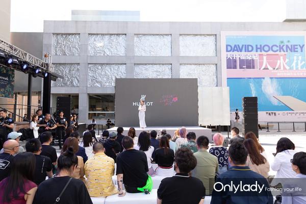 HUBLOT宇舶表助力木木美术馆新馆揭幕  重磅呈现大卫·