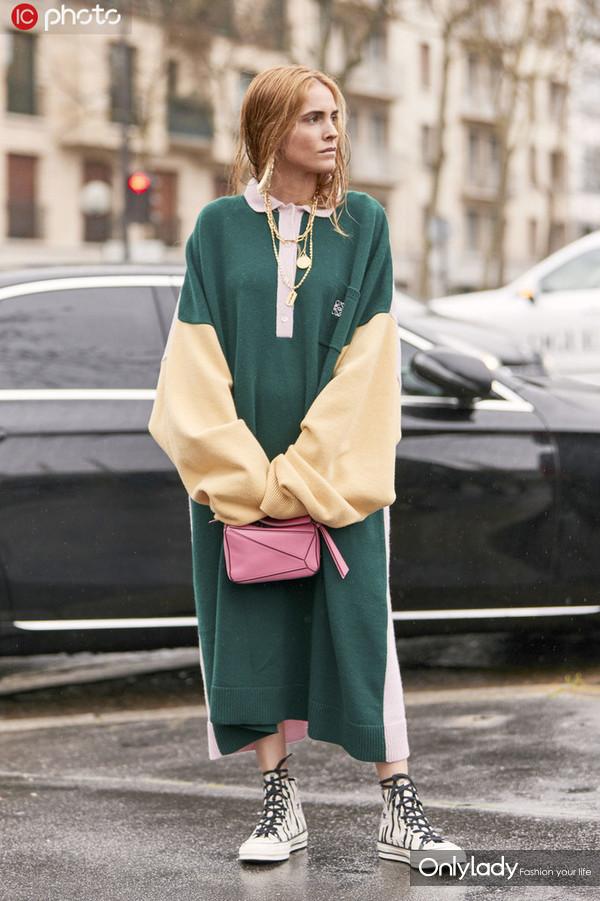 连衣款 时尚博主 Blanca Miro Scrimieri (1)