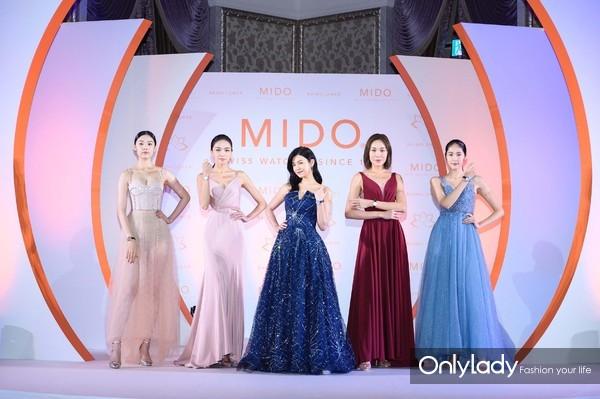 4. 活动现场, 陈妍希与众模特演绎瑞士美度表全新花淅系列长动能女士腕表