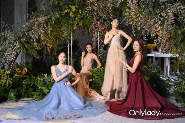 5. 活动现场模特演绎瑞士美度表全新花淅系列长动能女士腕表