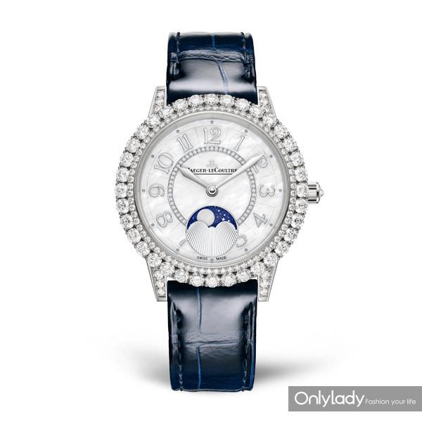 积家Dazzling-Rendez-Vous-Moon约会系列月相珠宝腕表