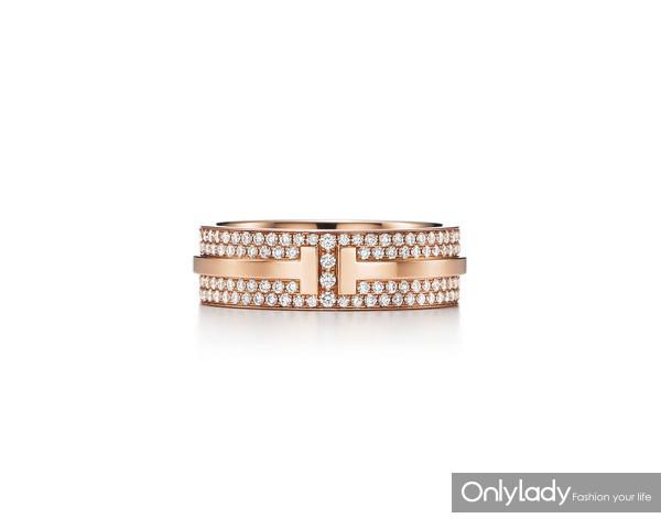 Tiffany & Co. ��ܽ��Tϵ��T Two 18Kõ��������ָ