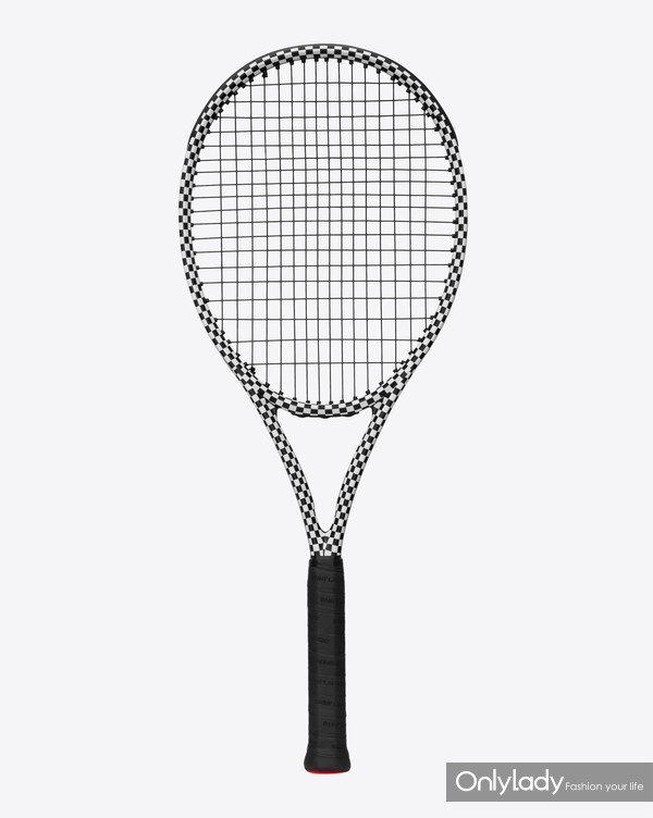 SAINT LAURENT RIVE DROITE COLLABORATION TENNIS RACKET BY WILSON 1