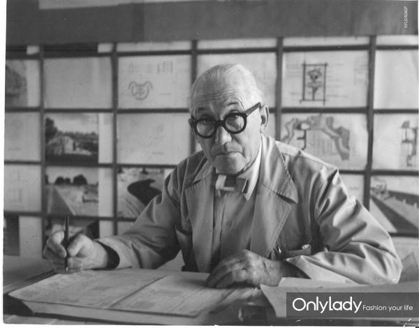 法国当代杰出建筑大师勒·柯布西耶(Le Corbusier)(图片版权归  勒·柯布西耶基金会