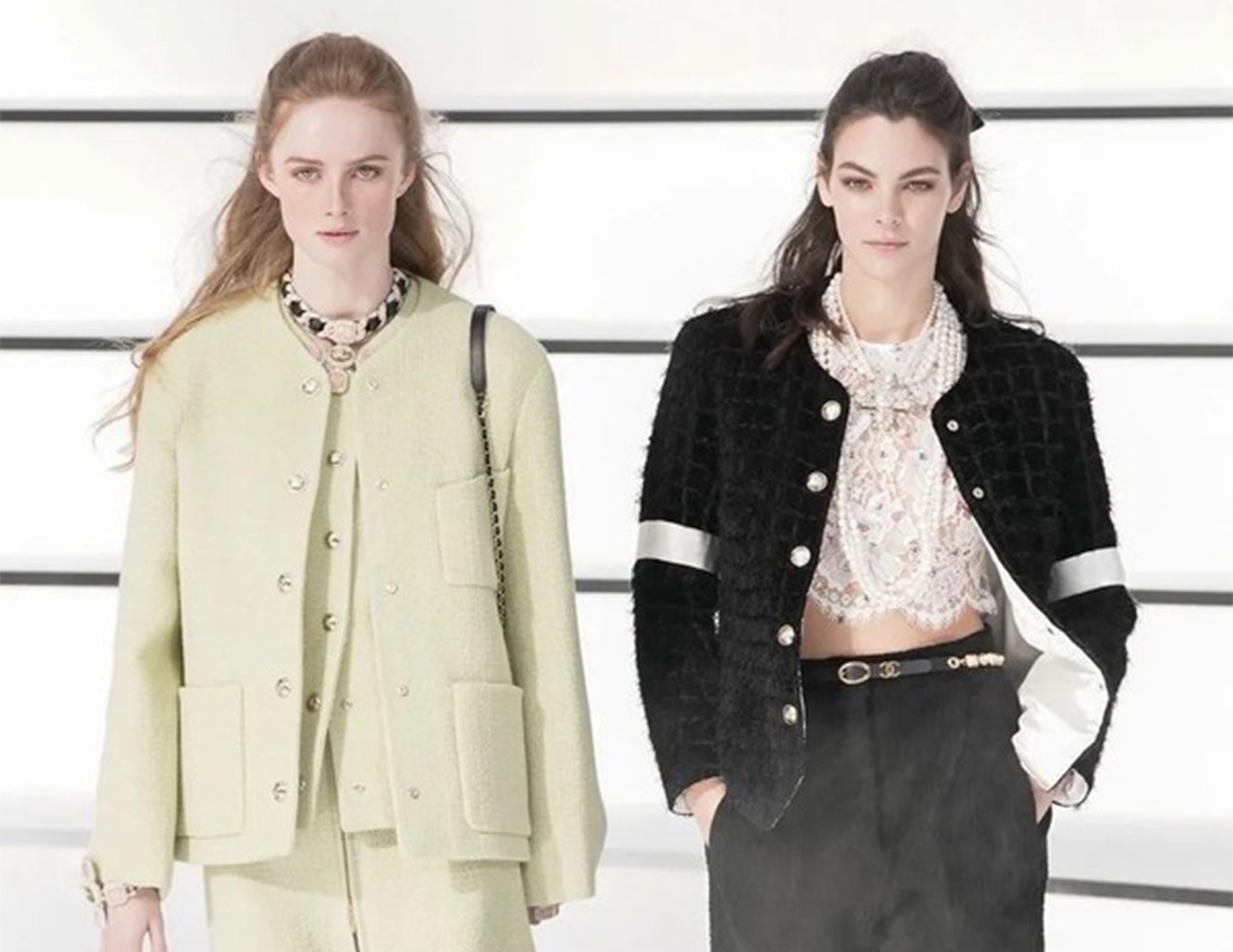 巴洛克珠宝、骑士裤、申博现金网官网登入、还有结伴走秀! Chanel这一季太太太美了吧!