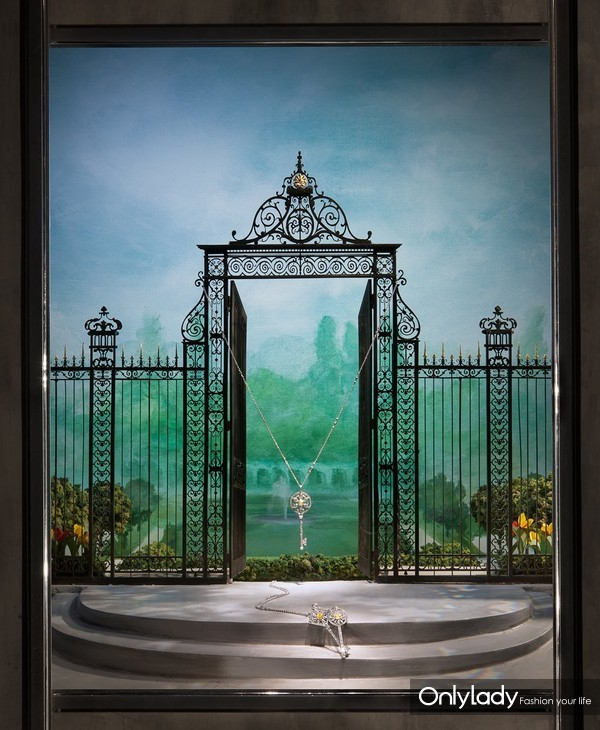 "Tiffany & Co. 蒂芙尼2012年橱窗陈列,于蒂芙尼""匠心妙艺""展览再次演绎 (2)(1)"