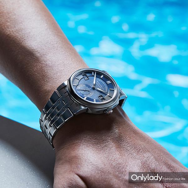 朗格ODYSSEUS是一枚为活力生活而打造的精钢防水腕表