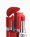 Dior迪奧烈艷藍金摯紅美唇膏與Dior迪奧烈艷藍金摯紅液體唇膏