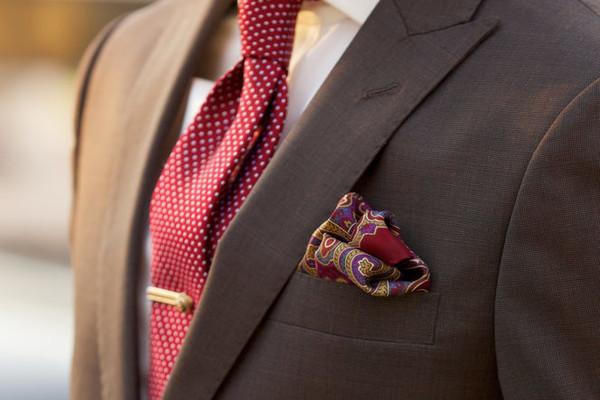 一次学会征服西装最精粹的亮点:领带夹 Tie Clip 穿戴