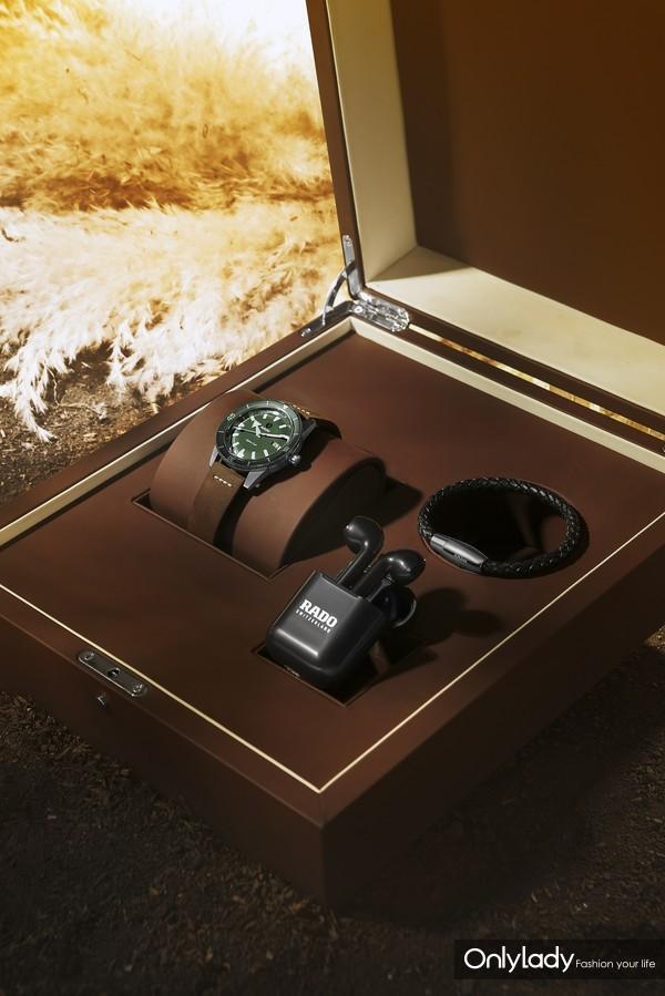 Rado瑞士雷达表Captain Cook库克船长限量版礼盒套装