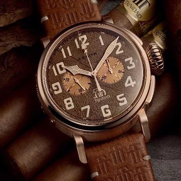 雪茄迷情 腕间挚爱 真力时携手雪茄品牌Trinidad 推出50周年限量款腕表