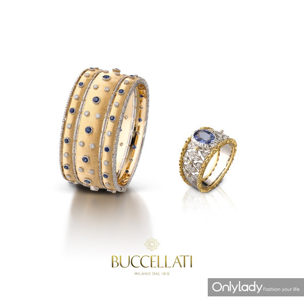 Buccellati��������Dream Braceletsϵ������ & Band Ringsϵ�н�ָ