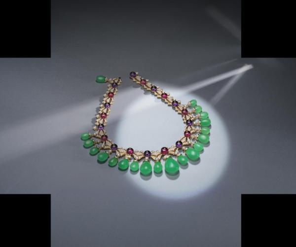 宝格丽Cinemagia光影奇遇高级珠宝系列Charming Sirens项链