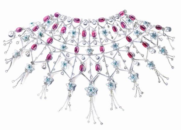 宝格丽Jannah高级珠宝系列披肩项链